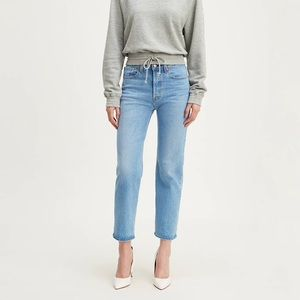 Levi's wedgie straight leg crop